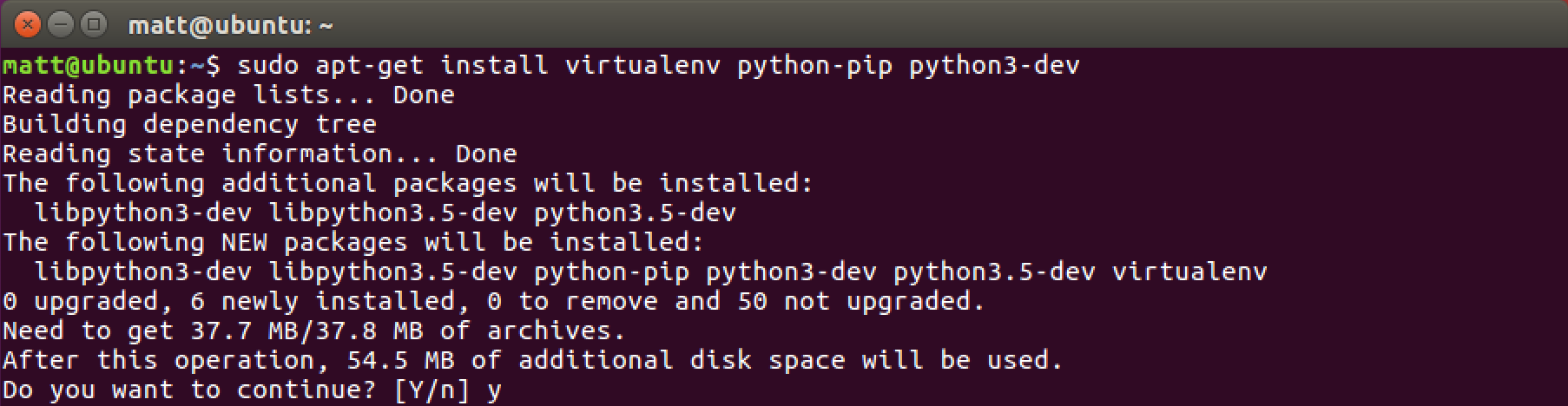 How to set up Python 3, Flask and Green Unicorn on Ubuntu