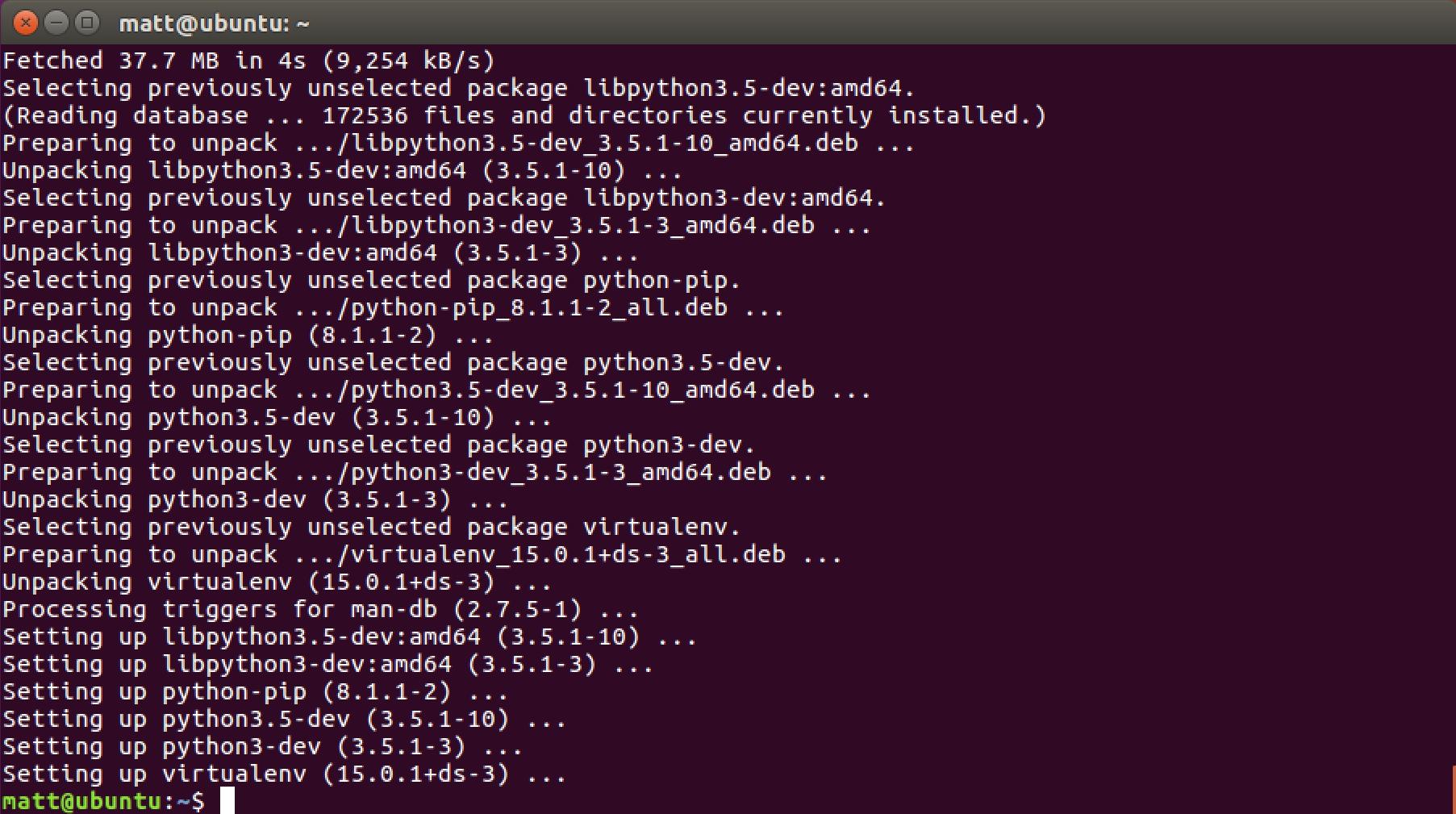 How to set up Python 3, Flask and Green Unicorn on Ubuntu 16 04 LTS
