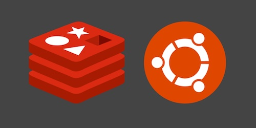 Redis and Ubuntu logos. Copyright their respective owners.