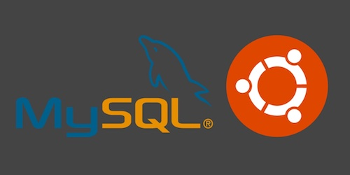 MySQL and Ubuntu logos. Copyright their respective owners.
