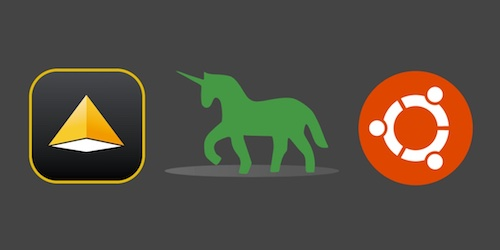 Pyramid, Green Unicorn and Ubuntu logos. Copyright their respective owners.
