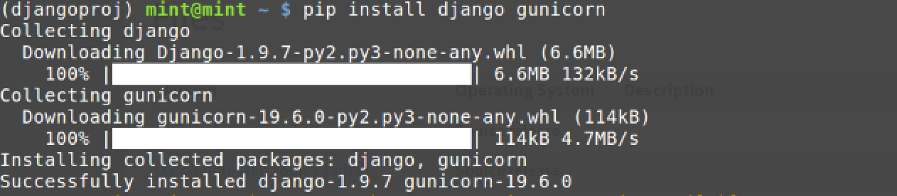 Setting Up Python 3, Django & Gunicorn on Linux Mint 17 3 - Full