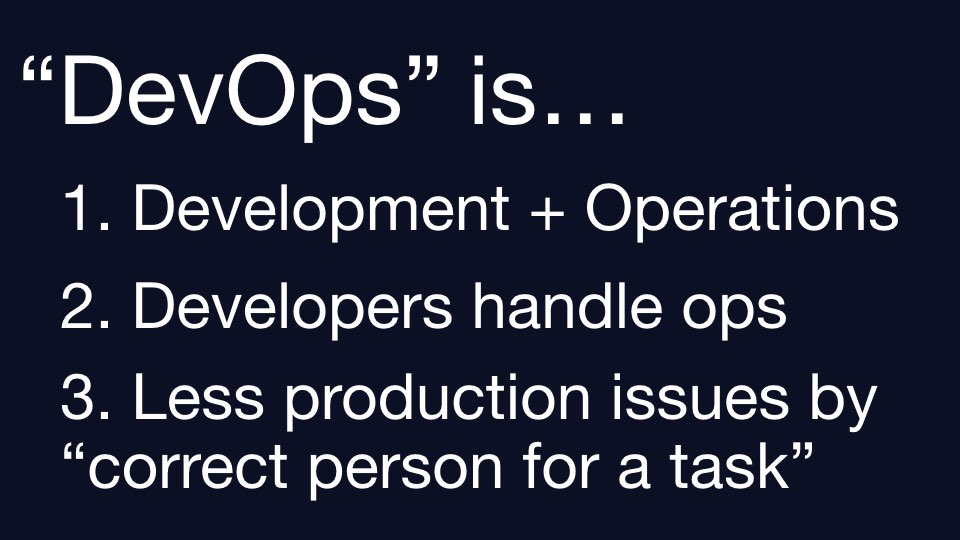 What DevOps IS.