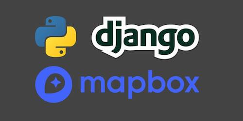 Python, Django and Mapbox logos are copyright their respective owners.