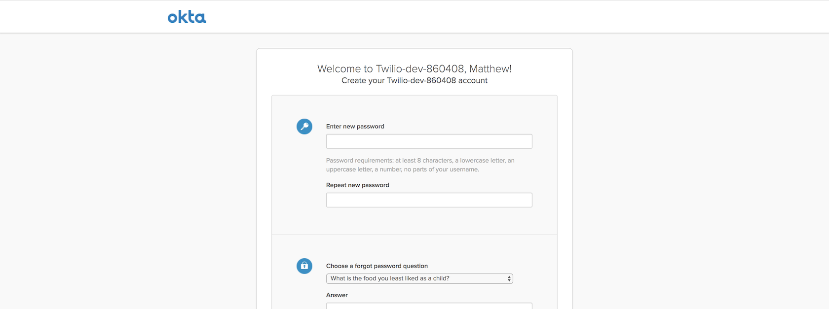 Adding Okta Authentication to an Existing Flask Web App