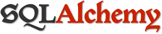 SQLAlchemy logo.